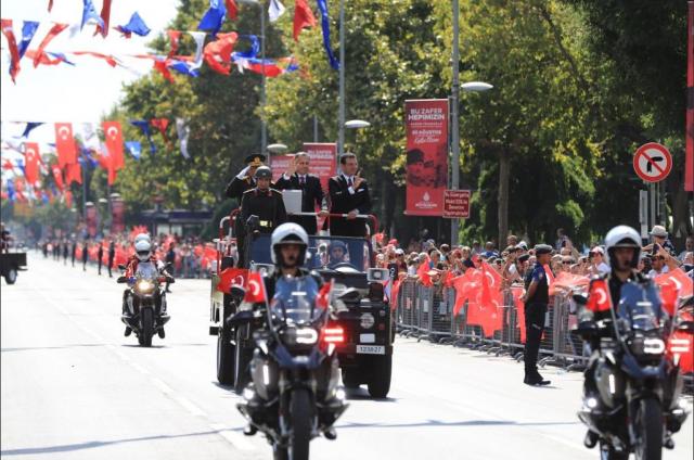 Ekrem İmamoğlu 30 Ağustos Zafer Bayramı Kutlamaları
