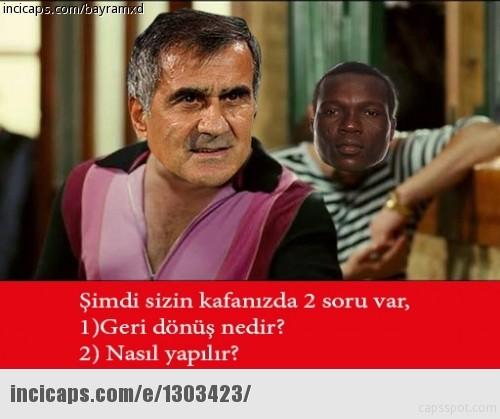 Beşiktaş - Benfica Maçı Capsleri