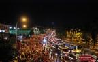 Boğaziçi Köprüsü'nde Darbe Protesto Yürüyüşü