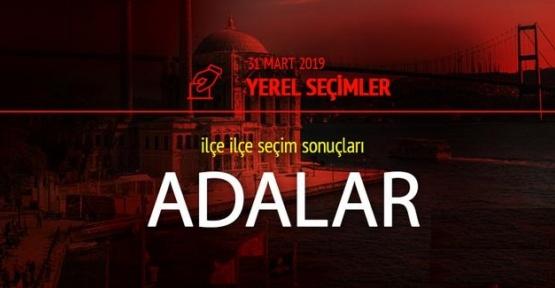 31 Mart İstanbul Adalar Seçim Sonuçları