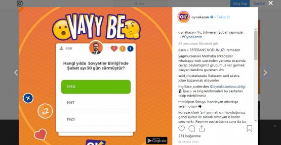 Oyna Kazan Kopya ve joker kodu 26 Mart 2019