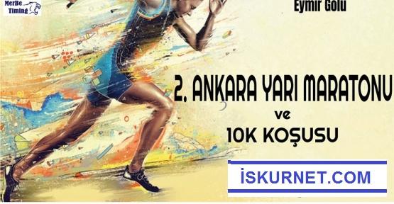 Ankara'da 2. Yarı Maratonu Düzenleniyor