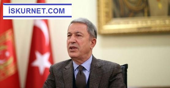 Bakan Akar'dan Uluslararası Antlaşmalarla İlgili Açıklama
