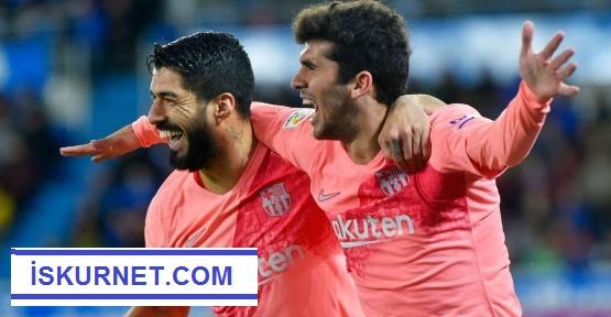 Barcelona şampiyonluğa çok yaklaştı