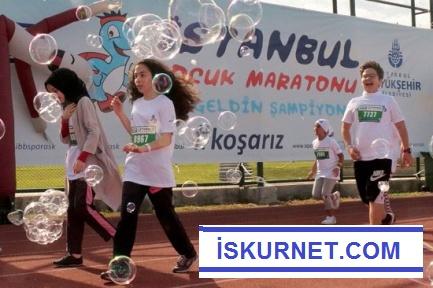 Çocuklar İstanbul'da Koşacak