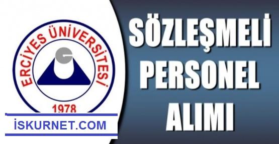 Erciyes Üniversitesi 46 Sözleşmeli  Sağlık Personeli Alacak.