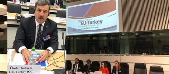 Güney Kıbrıs Temsilcisi AB Toplantısında Kriz Çıkarttı