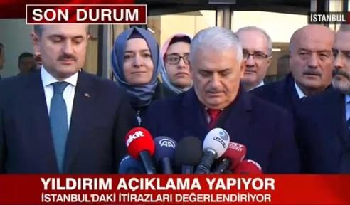 Son Dakika İstanbul'da kim kazandı Binali Yıldırım Konuşuyor