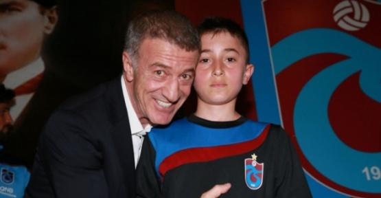 Trabzonspor Başkanı Ağaoğlu ''Gençlere güvenerek göreve talip oldu.''