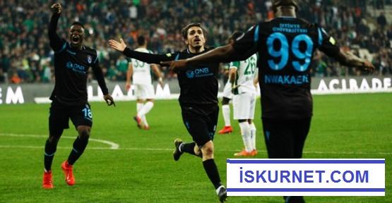 Trabzonspor Bursa'dan 3 Punla döndü
