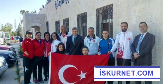 Ürdün'den 9 Madalya İle Döndüler