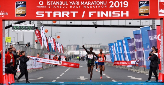 VODAFONE 14. İSTANBUL YARI MARATONU'NDA PARKUR REKORU KIRILDI!
