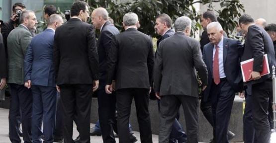 Cumhurbaşkanı Erdoğan Başkanlığında Kritik İstanbul Toplantısı