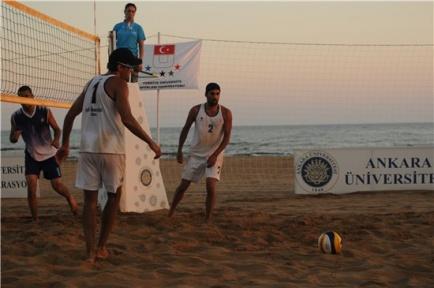 Plaj Voleybolu Türkiye Şampiyonası Aydın Didim'de Yapılacak