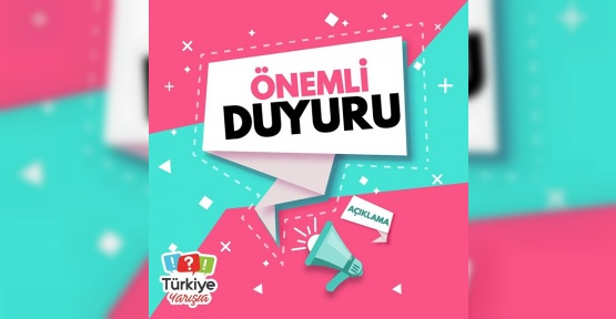 Türkiye Yarışta İflas mı etti ? Türkiye Yarışta Artık Olmayacak mı ? Önemli Duyuru