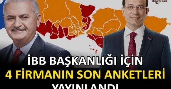 23 Haziran İstanbul Seçim Anketleri Yayınlandı.