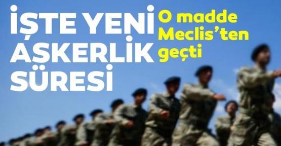 Artık Askerlik 6 Ay. Askerlik Yasası Meclis'ten Geçti