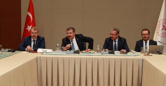 Bakan Koca, Ankara İl Değerlendirme Toplantısı'na Katıldı