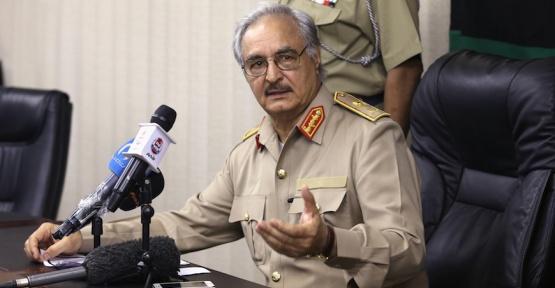 Libya'da Yunanistan ve ABD Kuklası Hafter Türk Gemilerini Tehdit Etti