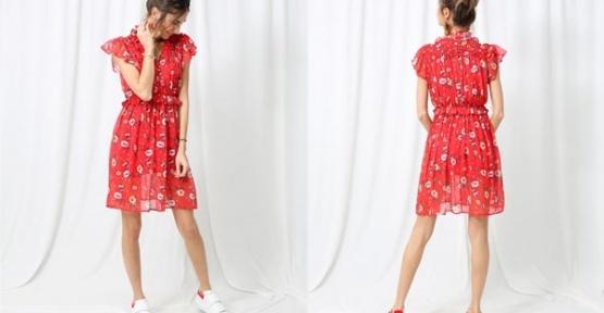Mini Elbiselerde Modeller