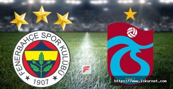 Fenerbahçe Trabzonspor Maç Analizi ve Maç Tahmini
