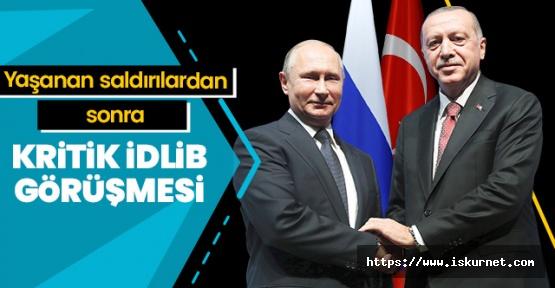 Rusya'da İdlib Görüşmesi