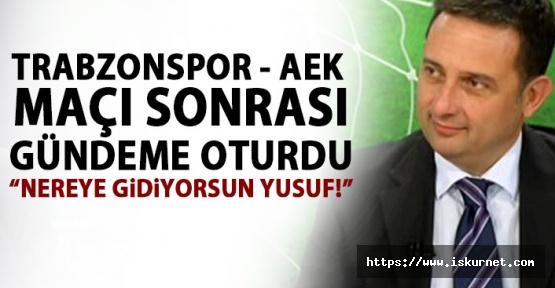Trabzonspor AEK Maçının Spikeri Gündem Oldu