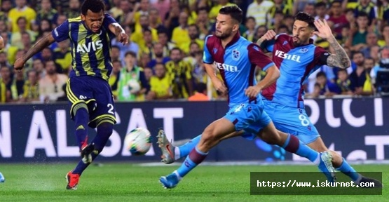 Fenerbahçe Trabzonspor maç sonucu 1-1 Fenerbahçe Trabzonspor Maç özeti