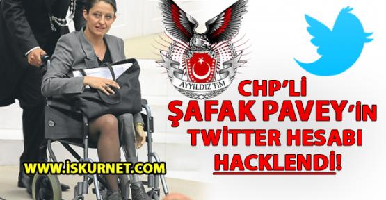 Ayyıldız Tim, CHP'li Şafak Pavey'in Twitter Hesabını Hackledi