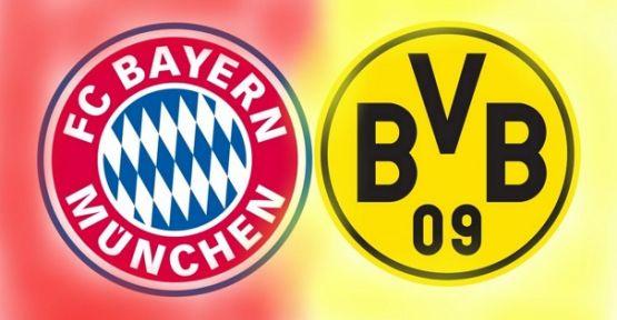 Bayern Münih-Borussia Dortmund maçı hangi kanalda? Saat kaçta?