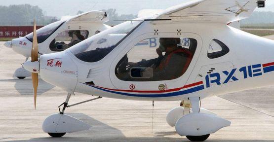 Çin elektrik uçakları üretmeye hazırlanıyor