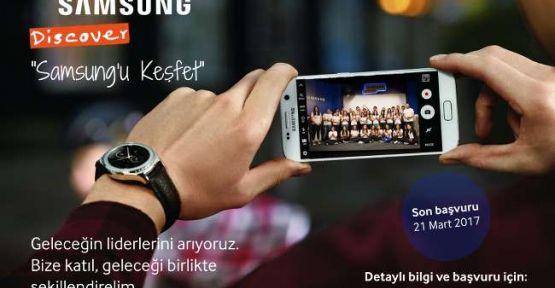 """""""Discover Samsung"""" Genç Yetenek İşe Alım Programı başladı!"""