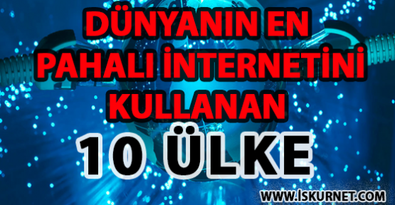 Dünyanın En Pahalı İnternetini Kullanan 10 Ülke