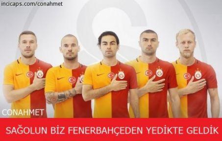 Fenerbahçe - Galatasaray Maçı Capsleri (20 Kasım 2016)