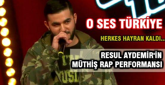 O Ses Türkiye'de Resul Aydemir'in Rap Performansı Hayran Bıraktı