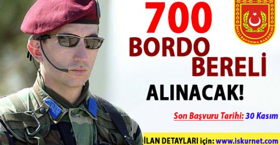 Özel Kuvvetler Komutanlığı 700 Bordo Bereli Alımı Yapıyor