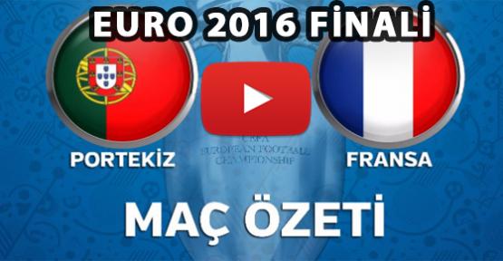 Portekiz 1-0 Fransa Maç Özeti EURO 2016 Finali