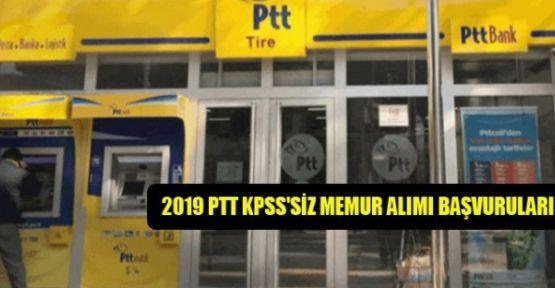 PTT, KPSS Şartı olmadan memur alacak