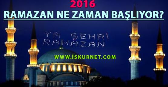 Ramazan 2016 Ne Zaman Başlıyor? Ramazan Bayramı Ne Zaman?