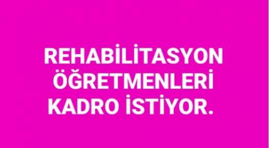Rehabilitasyon Öğretmenlerine 5 Bin Kadro