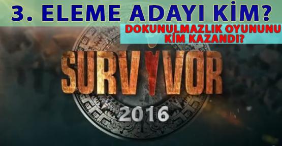 Survivor 2016'da Kim Elendi? SMS Oylaması Açıklandı. İşte Survivor SMS Sonuçları