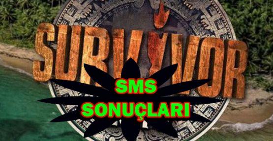 Survivor SMS Sıralaması - Acun Ünlüler Halk Oylama Sonuçları 8 Mart Eleme