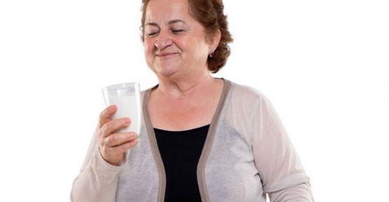 Süt içerek yüksekTansiyon riskini azaltın