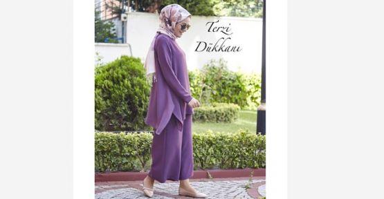 Tesettür Giyim Tunik Seçenekleri İle Her An Şık Olun