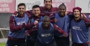 Trabzonspor'da  Antalyaspor Hazırlıkları Devam Ediyor