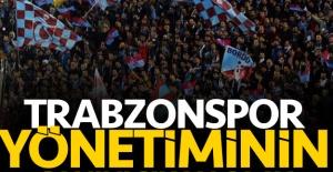Trabzonspor yönetiminin canını sıkan tribün