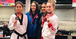 Türkiye Taekwondo Milli Takımı'ndan ABD'de 5'i Altın 8 Madalya