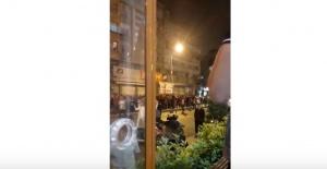 İstanbul Gazi Mahallesi'nde YSK kararına Protesto Yürüyüşü  İzle