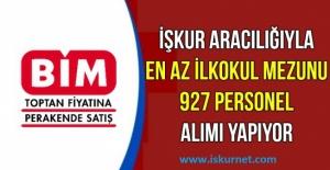 BİM, A101, ŞOK 23 Şehirde Toplam 676 Personel Alacak