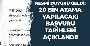 Öğretmen Atama ve Yer Değiştirme 2019 Takvimi Açıklandı.